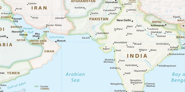 forente arabiske emirater kart Dibba Al Hisn på kartet forente arabiske emirater kart
