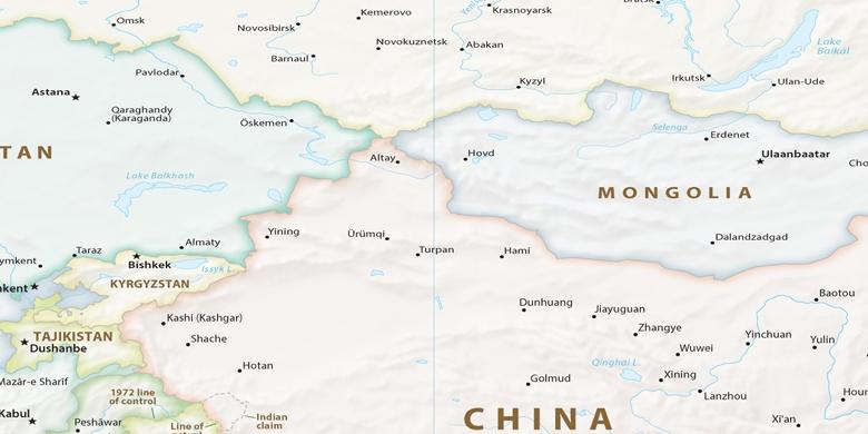 kasakhstan kart Ust Kamenogorsk på kartet kasakhstan kart