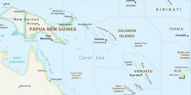 salomonøyene kart Auki på kartet salomonøyene kart